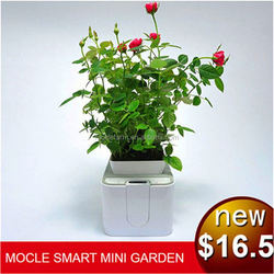 Mini metal flower pot