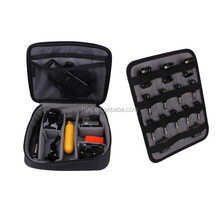 Go pro New design Black Sponge waterproof storage case and bag for H ero 2 3 3+ 4 Accessories