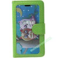 Unique Design Embossed Custom Wallet PU Leather Flip Mobile Phone Case for Nokia Lumia 930