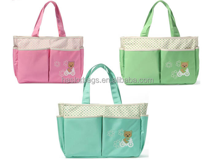 Bsci directement usine avec pas cher mère bébé sac, Mode adulte bébé Diaper Bag