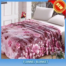 Hot In India Polyester Printed Flannel Blanket
