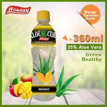 360ML Houssy aloe vera drink Mango Flavored Aloe Cube