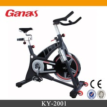 with super silent system heavy duty commercial exercise bike