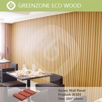 natural and comfortable application easy to install new tech wpc wall cladding board