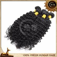 High quality overseas brazilian hair accept paypal tangle free deep wave virgin hair full fix hair