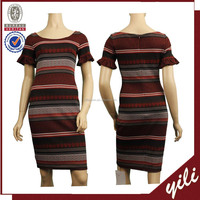 Top quality ladies short sleeve midi tube sex women party dress WD150832580