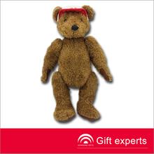 brown teddy bear joint can be moved bear plush Stuffed Teddy Bear Toys