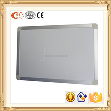 magnetic wall mounted white board with aluminium frame