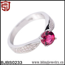 925 Jewelry for Costume Wedding Silver Ring Wholesale