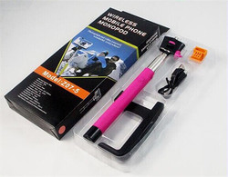 Factory wholesale wireless selfie stick bluetooth2015 new product for moblie phone digital camera