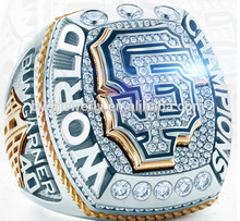 New SF Giants ring, replica MLB championship ring for baseball players