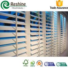 Decorative Vertical PVC Plantation Shutters