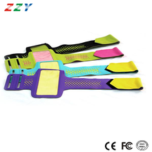 2015 best mobile phone accessories soft lycra sport armband with TPU window