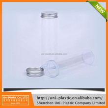 plastic gift clear packaging tubes Factory made