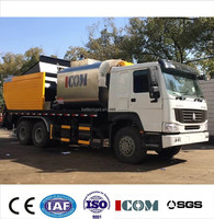 Reliable Performance SINOTRUCK ZQZ5250GWTB Asphalt Synchronous chip sealer, Distribute Bitumen And Aggregate ,chipping machne