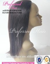new product Human Hair Yaki Half Wigs Wholesale Prices made in china