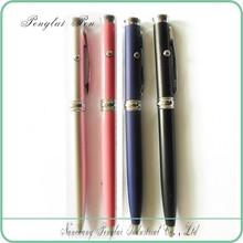 2015 logo metal red super multifunction pen red measuring laser portable laser engraver pen