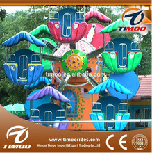 Timoo Funny interesting playground 5-12 cabins park rides mini ferris wheel for sale