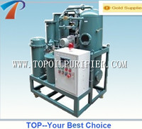 TOP vacuum transformer oil filtration machine through the dehydrator, degasification, filtration processes,unique technology
