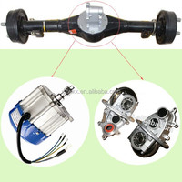 electric tricycle rear axle rickshaw spare parts with gear box 500w-1000w motor