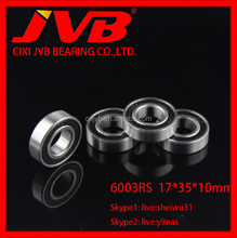 6003 2RS 17*35*10mm motorcycle engine parts Deep Groove Ball Bearing