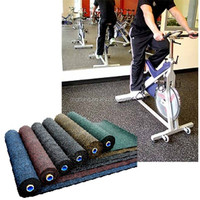 New products eco-friendly rubber rolled flooring