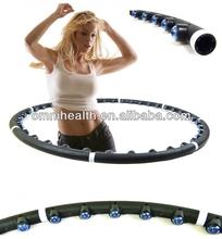 Factory supply magnetic massage hula hoola hoop