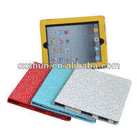 Factory Price Diamond rhinestone flip cover case for tablet case for apple ipad air 5