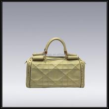 China Fashion OL Marca dragon color exported pu handbag