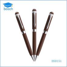 popular promotional chrome silkescreen metal pen