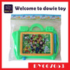 Educational children toys drawing activity for kids magnetic writing board for sale