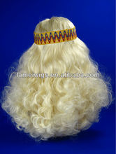2013 synthetic party wig, prencess long curly wigs