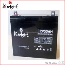L229*W138*H208*TH213 size 12v 50ah sealed lead acid agm batteries