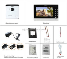 high quality 2014 newest design cheap wired video door phone intercom