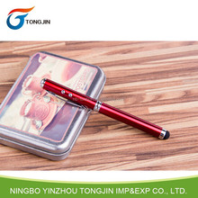 Touch control -led torch light pen