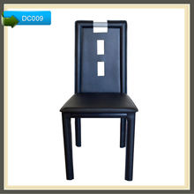restaurant dining chairs from china leather sits DC009