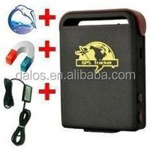 High quality Dual sim card CDMA/GSM Car GPS tracker long battery life TK102 gps tracker
