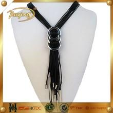 puying экзотических грубой ручной плетеный шелковый шнур ожерелье