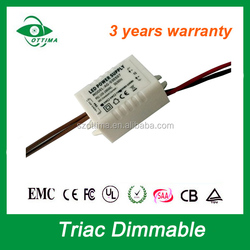 230V power supply constant current 350mA 9v led driver dimmable for downlight