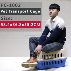 Indoor & Outdoor Plastic Pet Cage/ Case/ Carrier/ Dog Kennel, Manufacturing Up To IATA