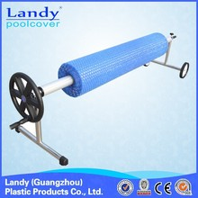 swimming pool cover reel, pool cover collector, pool equipment