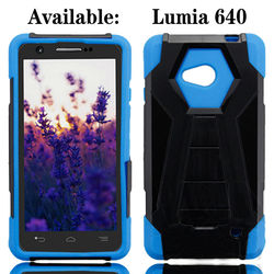 Flip Stand Phone Case for Nokia Lumia 610,New Arrival Rugged Defender Cover Case