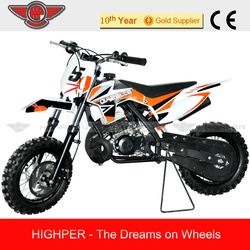 2105 50cc 2 stroke Kick Start Gas Mini Kids Dirt Bike with KTM engine