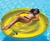 inflatable round water floating bed mattress