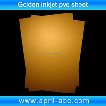 A4 Golden Inkjet printing pvc card material