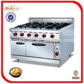 Venta caliente combinado de gas gama con 6- quemador& horno gh-997a 0086-136-322-722-89