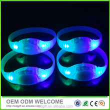 Cheaper Sound activation for party LED flashing bracelet