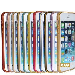 Two-color metal aluminium cover case for Iphone 5s