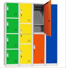 Best Selling Used Single Door Metal Wardrobe Locker Clothes Cabinet Steel Staff Lockers/steel plan cabinet