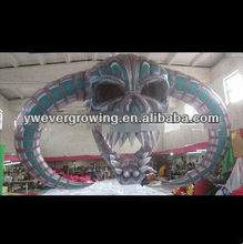 Inflatable ghosts arch Inflatable ghost halloween props